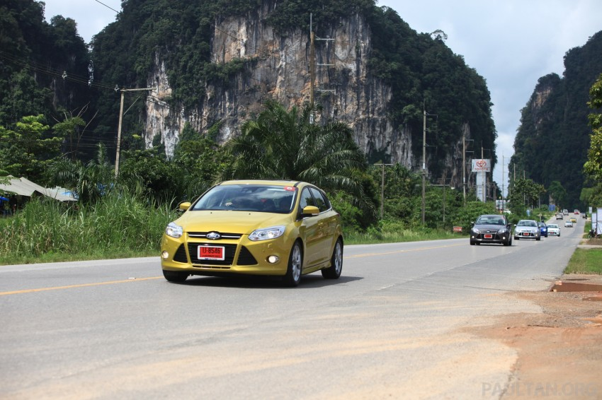 DRIVEN: New Ford Focus Hatch and Sedan in Krabi Image #119006