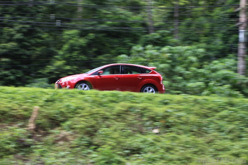 DRIVEN: New Ford Focus Hatch and Sedan in Krabi Image #119007