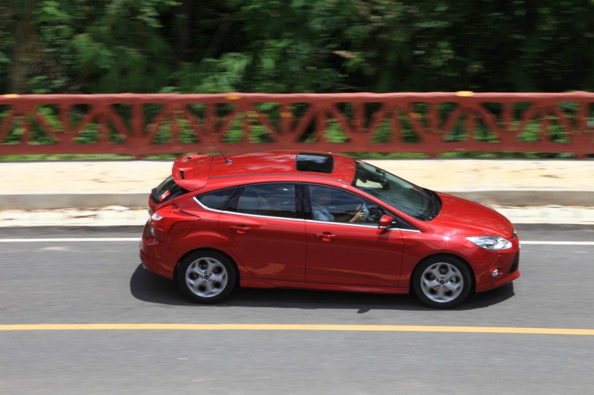 DRIVEN: New Ford Focus Hatch and Sedan in Krabi Image #119008