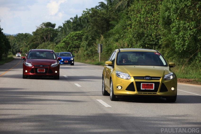 DRIVEN: New Ford Focus Hatch and Sedan in Krabi Image #119009