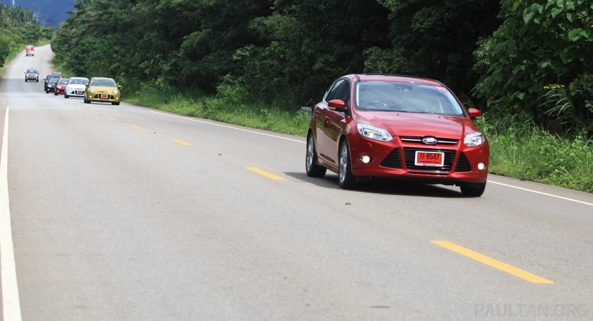 DRIVEN: New Ford Focus Hatch and Sedan in Krabi Image #119010