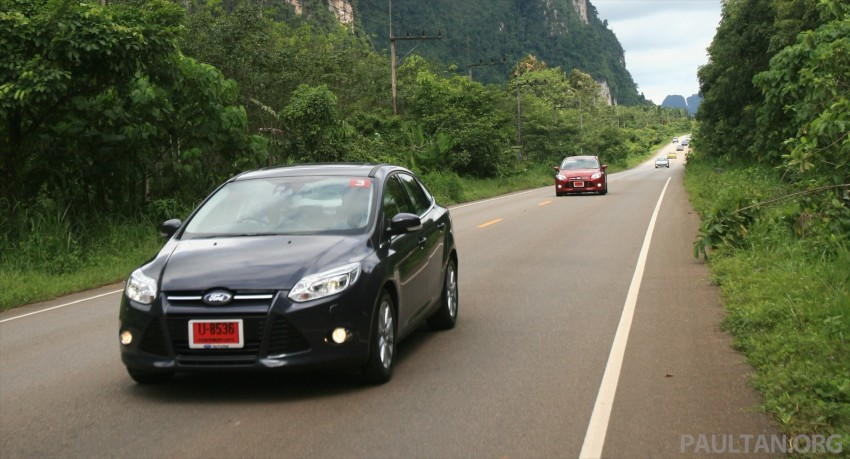 DRIVEN: New Ford Focus Hatch and Sedan in Krabi Image #119011