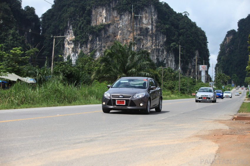 DRIVEN: New Ford Focus Hatch and Sedan in Krabi Image #119012