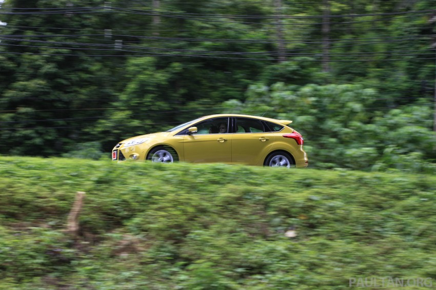 DRIVEN: New Ford Focus Hatch and Sedan in Krabi Image #119013