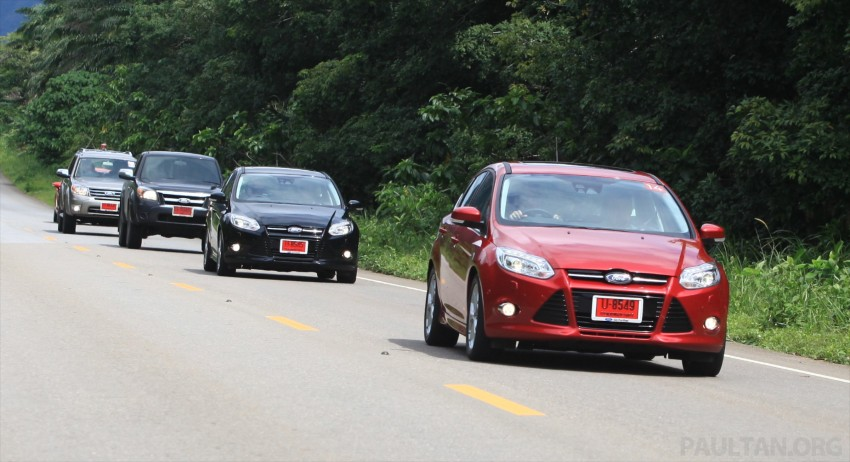 DRIVEN: New Ford Focus Hatch and Sedan in Krabi Image #119015