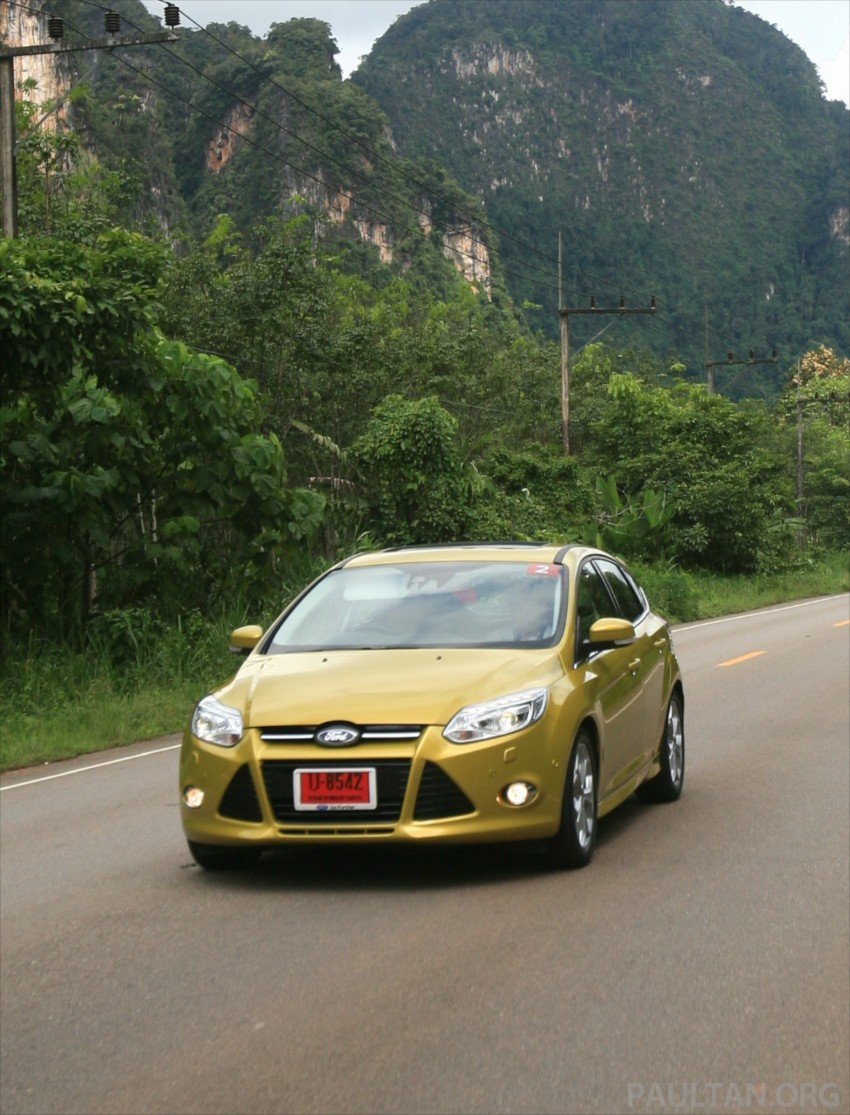 DRIVEN: New Ford Focus Hatch and Sedan in Krabi Image #119016