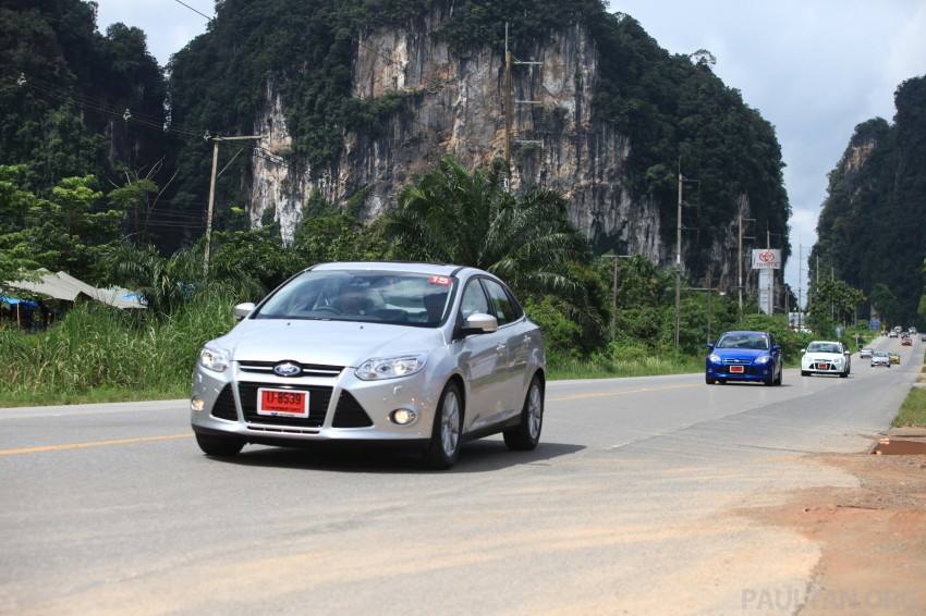 DRIVEN: New Ford Focus Hatch and Sedan in Krabi Image #119017