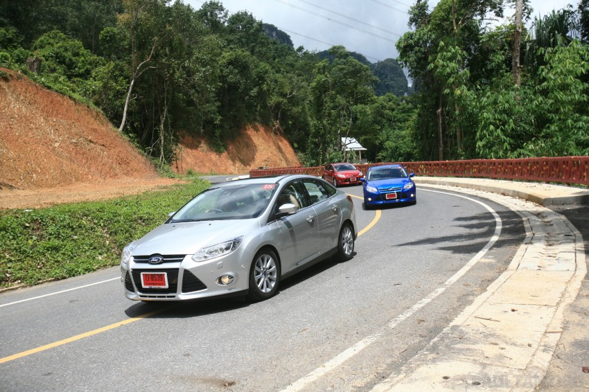 DRIVEN: New Ford Focus Hatch and Sedan in Krabi Image #119019