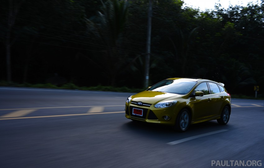 DRIVEN: New Ford Focus Hatch and Sedan in Krabi Image #118728