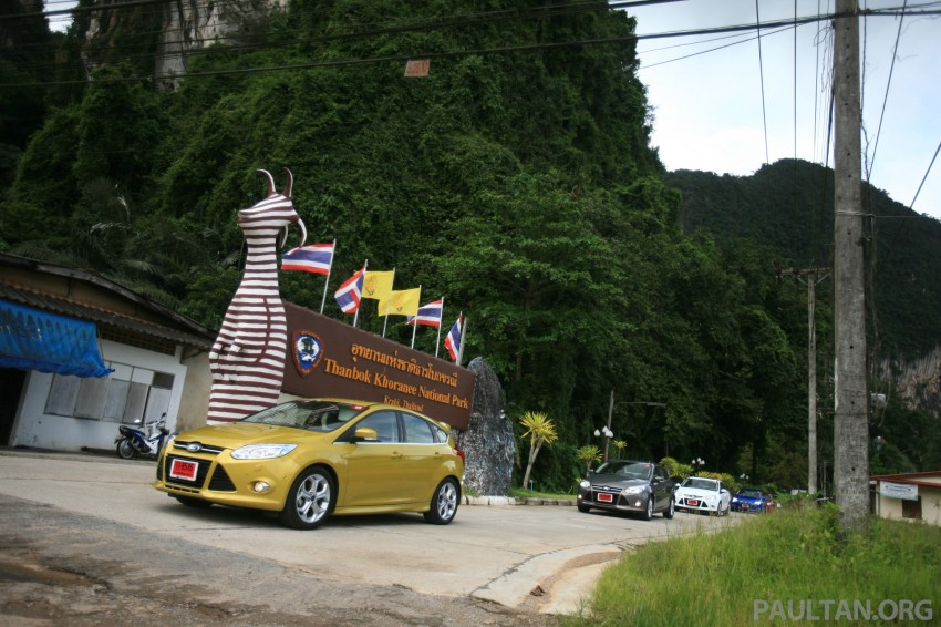 DRIVEN: New Ford Focus Hatch and Sedan in Krabi Image #119022