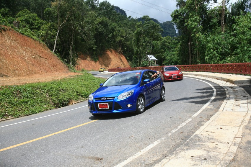 DRIVEN: New Ford Focus Hatch and Sedan in Krabi Image #119023