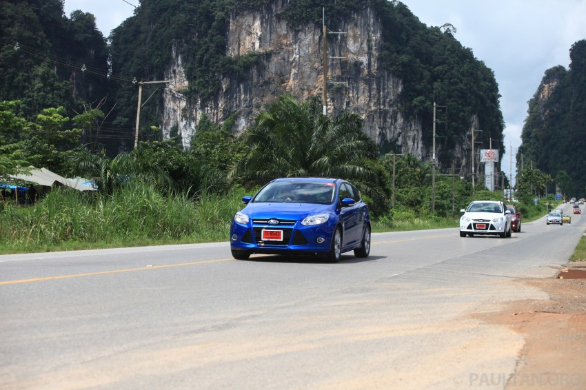 DRIVEN: New Ford Focus Hatch and Sedan in Krabi Image #119024