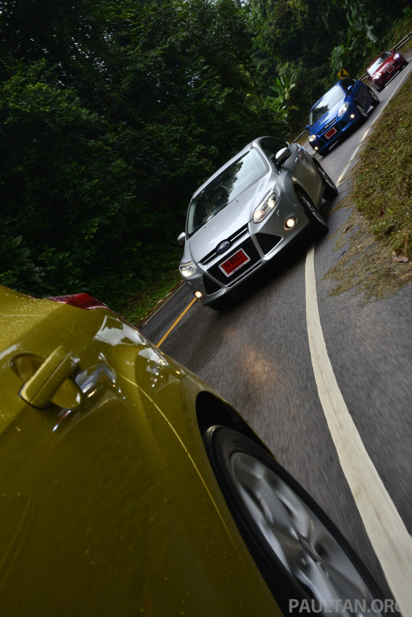 DRIVEN: New Ford Focus Hatch and Sedan in Krabi Image #118926