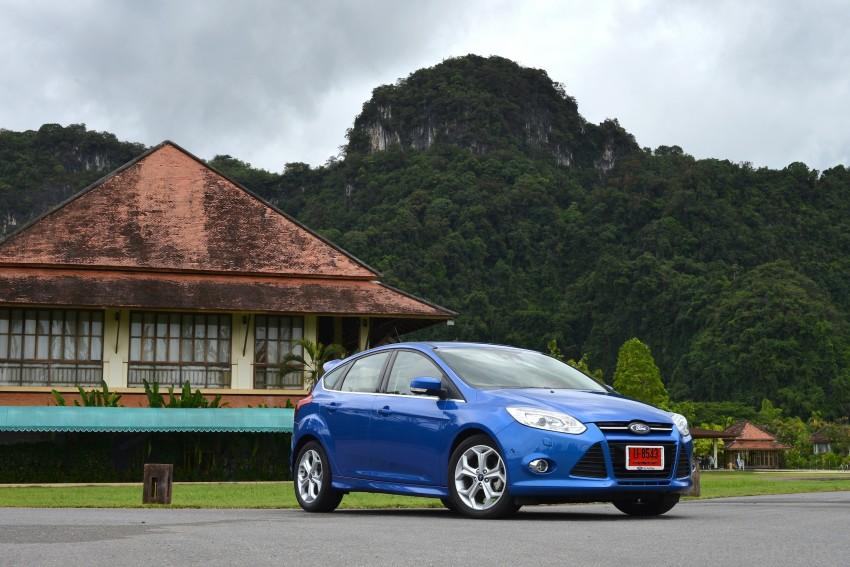 DRIVEN: New Ford Focus Hatch and Sedan in Krabi Image #118933
