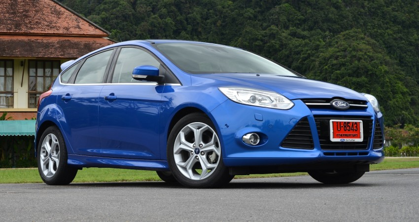 DRIVEN: New Ford Focus Hatch and Sedan in Krabi Image #118934