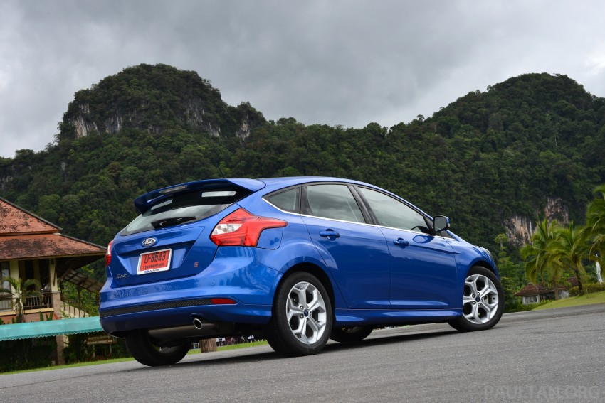 DRIVEN: New Ford Focus Hatch and Sedan in Krabi Image #118935