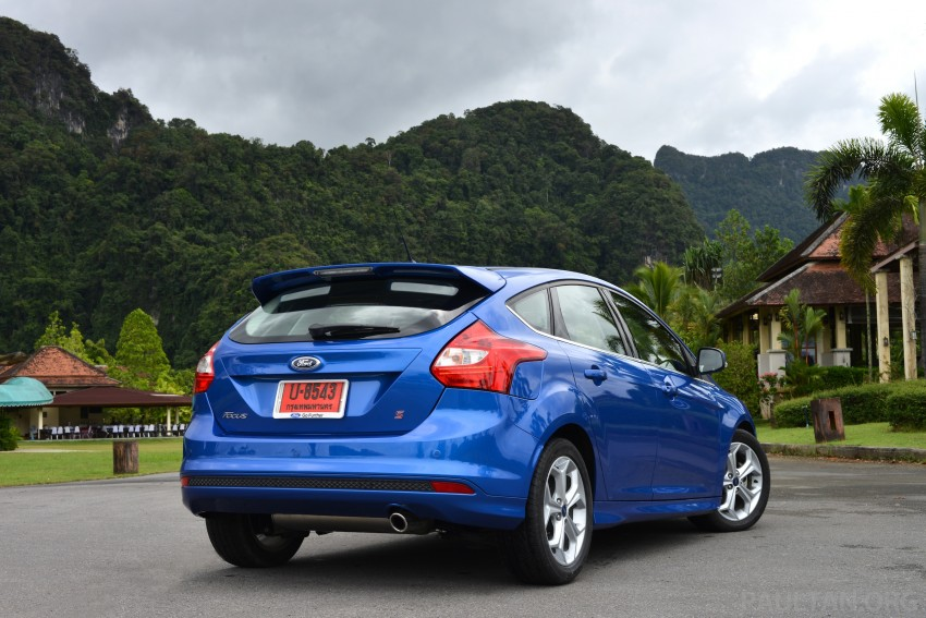 DRIVEN: New Ford Focus Hatch and Sedan in Krabi Image #118936