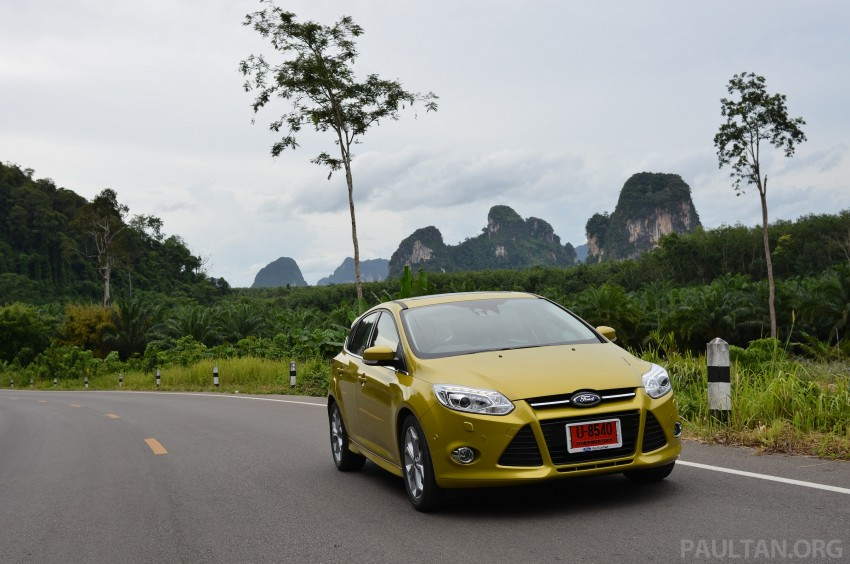 DRIVEN: New Ford Focus Hatch and Sedan in Krabi Image #118940