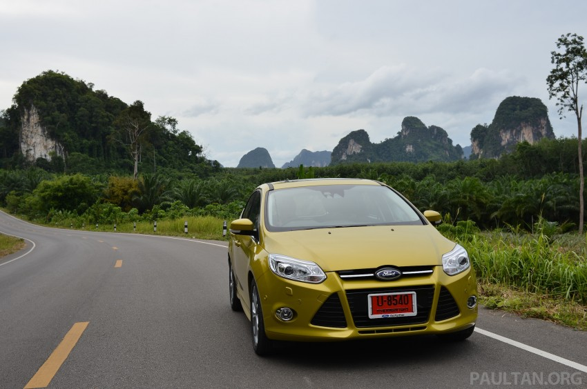 DRIVEN: New Ford Focus Hatch and Sedan in Krabi Image #118941
