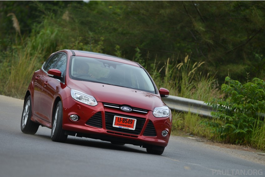 DRIVEN: New Ford Focus Hatch and Sedan in Krabi Image #118953