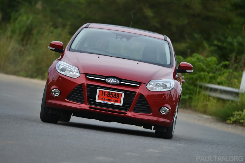 DRIVEN: New Ford Focus Hatch and Sedan in Krabi Image #118954