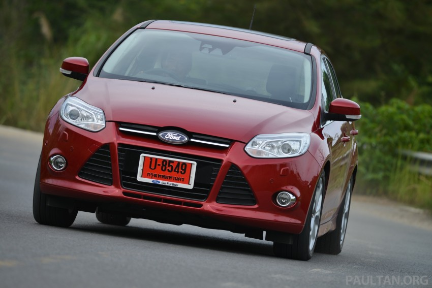 DRIVEN: New Ford Focus Hatch and Sedan in Krabi Image #118955