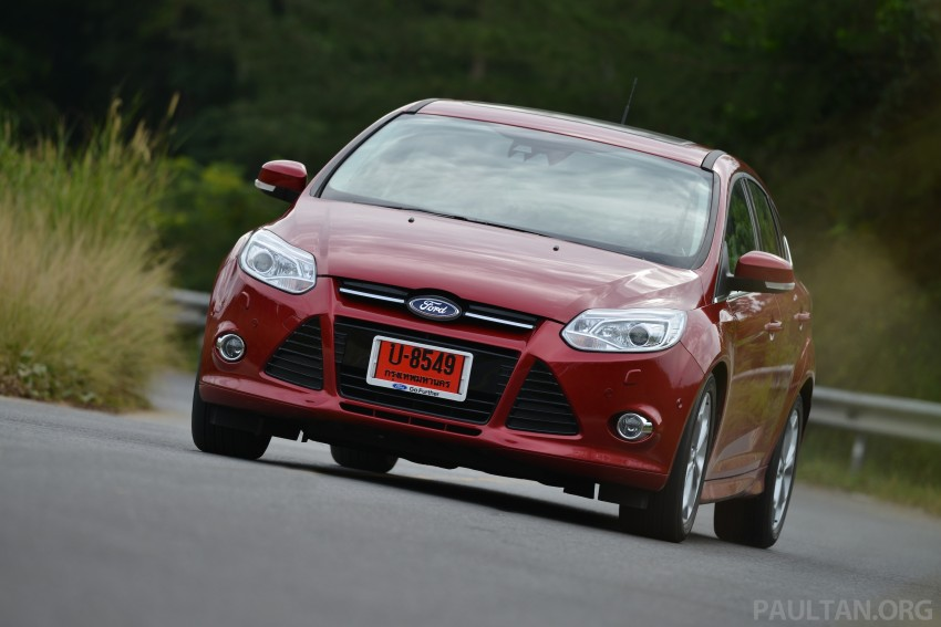 DRIVEN: New Ford Focus Hatch and Sedan in Krabi Image #118956