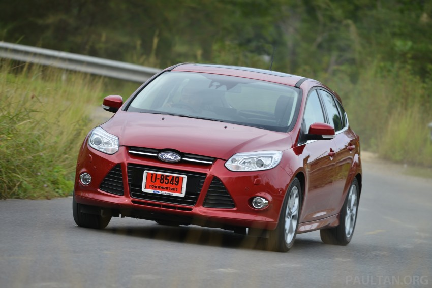 DRIVEN: New Ford Focus Hatch and Sedan in Krabi Image #118957
