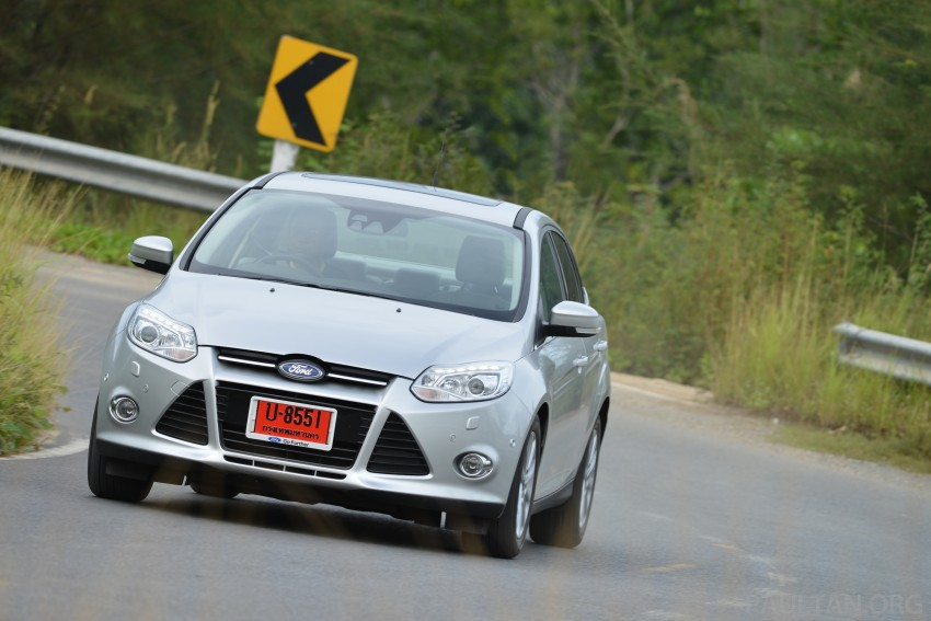 DRIVEN: New Ford Focus Hatch and Sedan in Krabi Image #118958