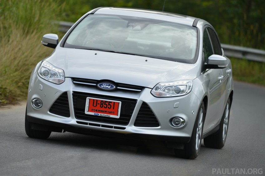 DRIVEN: New Ford Focus Hatch and Sedan in Krabi Image #118959