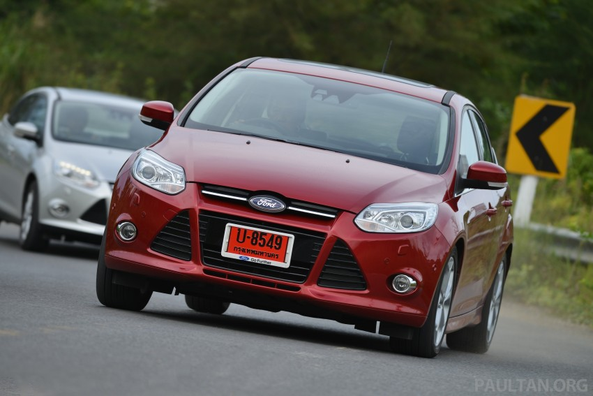 DRIVEN: New Ford Focus Hatch and Sedan in Krabi Image #118960