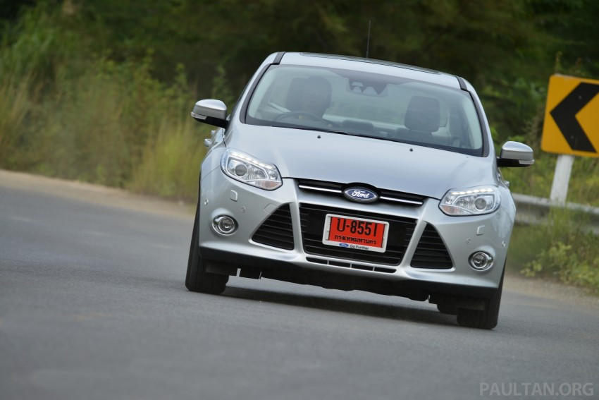DRIVEN: New Ford Focus Hatch and Sedan in Krabi Image #118961