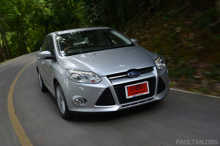 DRIVEN: New Ford Focus Hatch and Sedan in Krabi Image #118962