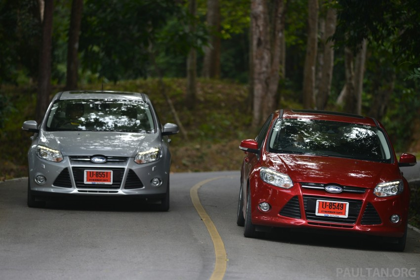 DRIVEN: New Ford Focus Hatch and Sedan in Krabi Image #118965