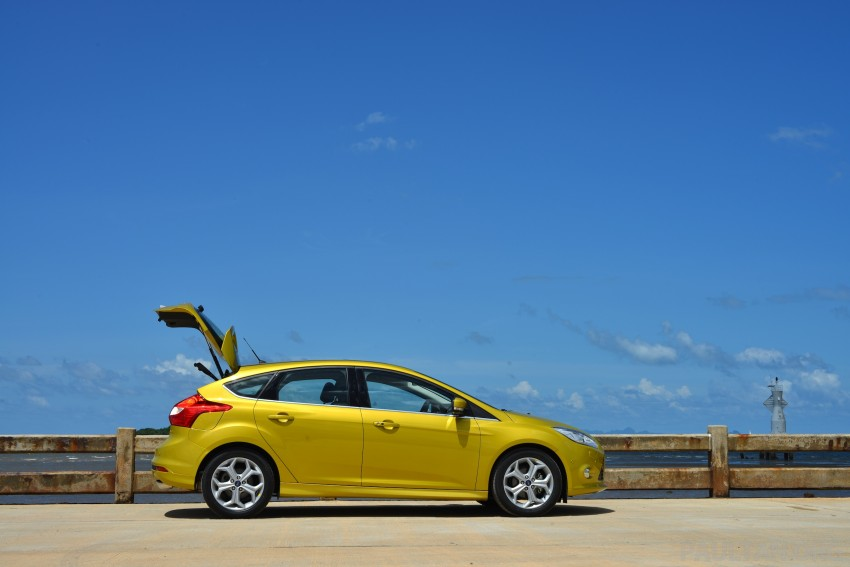 DRIVEN: New Ford Focus Hatch and Sedan in Krabi Image #118750