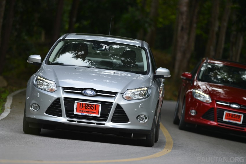 DRIVEN: New Ford Focus Hatch and Sedan in Krabi Image #118966