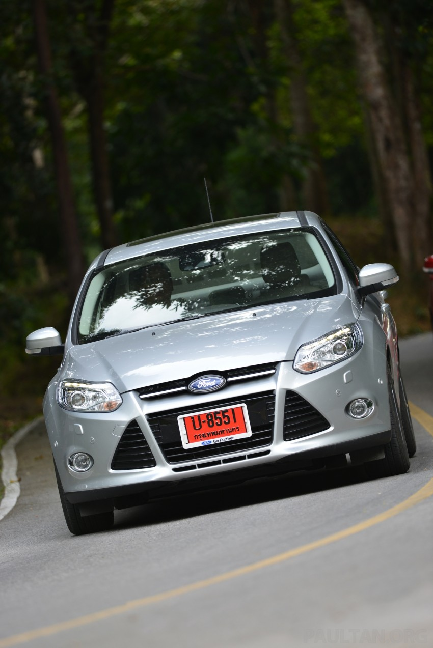 DRIVEN: New Ford Focus Hatch and Sedan in Krabi Image #118968