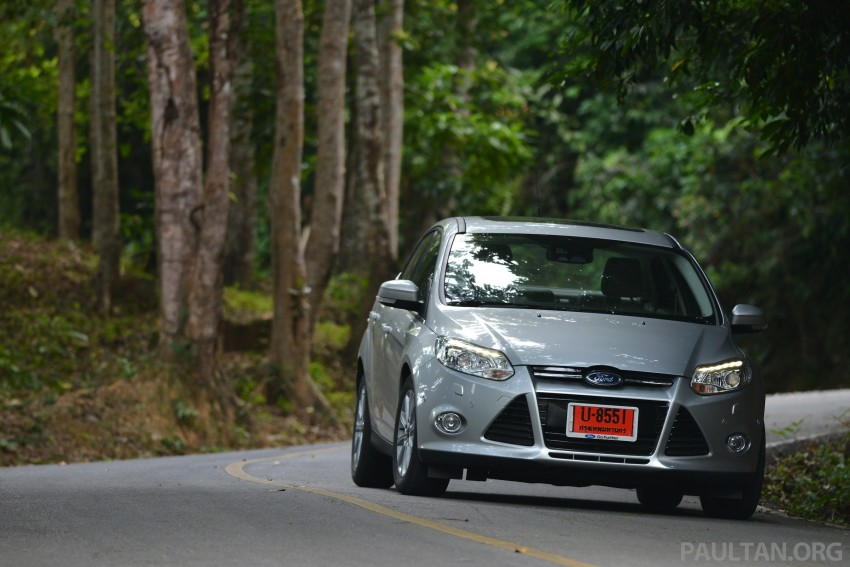 DRIVEN: New Ford Focus Hatch and Sedan in Krabi Image #118969