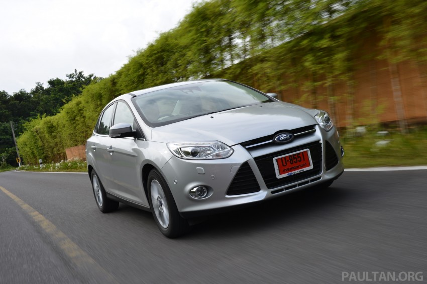 DRIVEN: New Ford Focus Hatch and Sedan in Krabi Image #118970