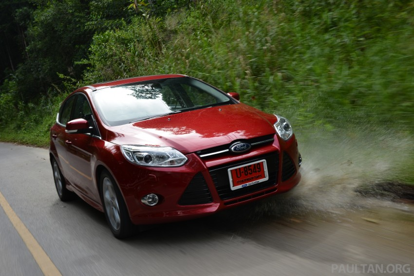 DRIVEN: New Ford Focus Hatch and Sedan in Krabi Image #118971