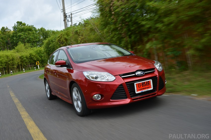 DRIVEN: New Ford Focus Hatch and Sedan in Krabi Image #118972