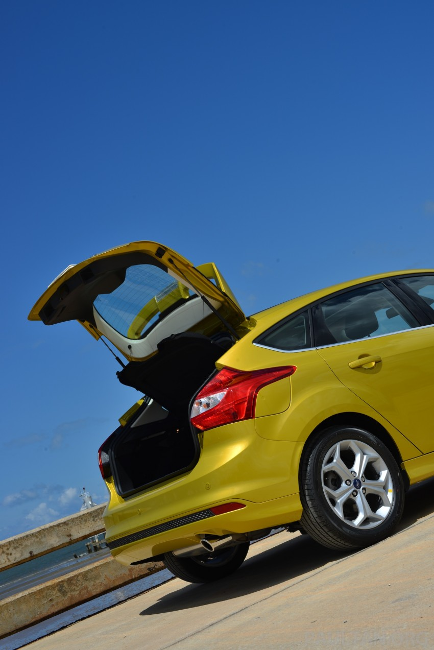 DRIVEN: New Ford Focus Hatch and Sedan in Krabi Image #118751