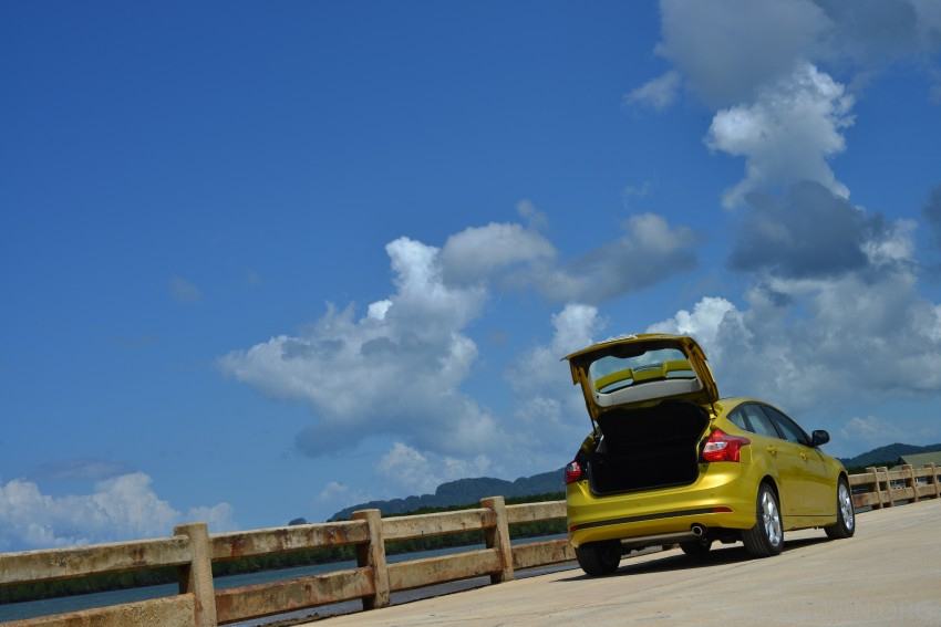 DRIVEN: New Ford Focus Hatch and Sedan in Krabi Image #118752