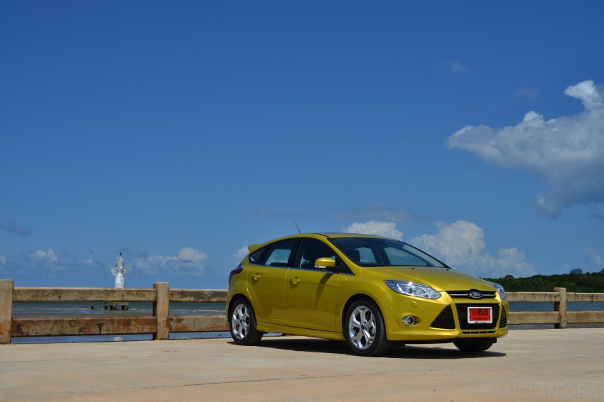 DRIVEN: New Ford Focus Hatch and Sedan in Krabi Image #118754