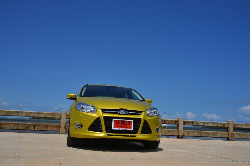 DRIVEN: New Ford Focus Hatch and Sedan in Krabi Image #118755