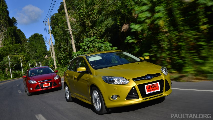 DRIVEN: New Ford Focus Hatch and Sedan in Krabi Image #118729