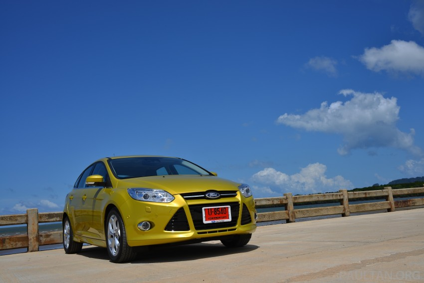DRIVEN: New Ford Focus Hatch and Sedan in Krabi Image #118756