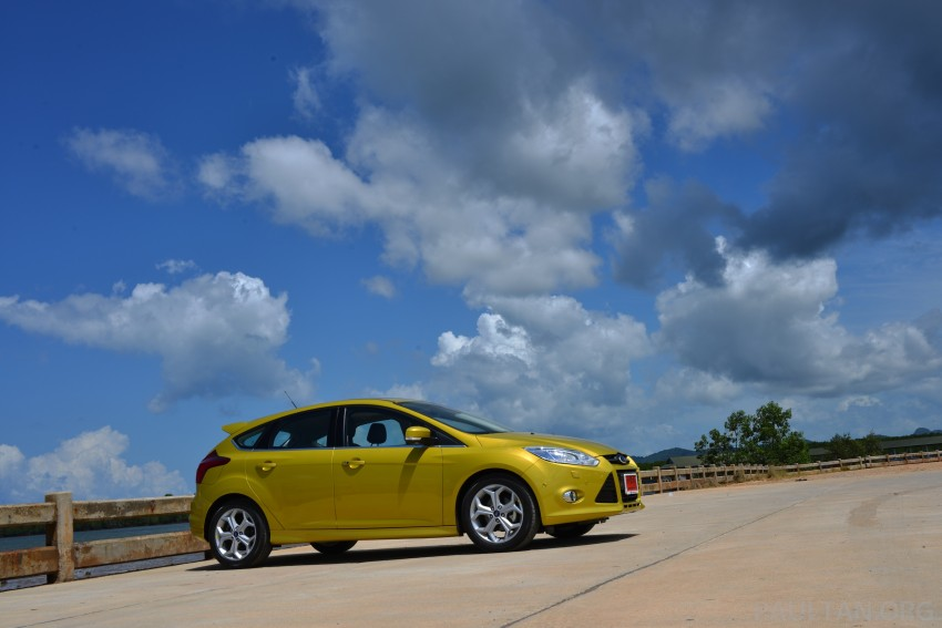 DRIVEN: New Ford Focus Hatch and Sedan in Krabi Image #118757
