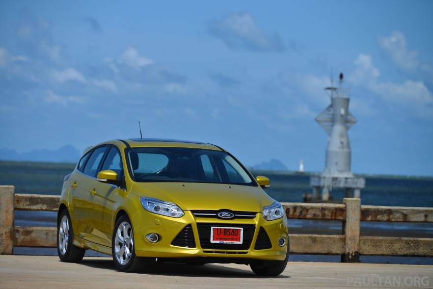 DRIVEN: New Ford Focus Hatch and Sedan in Krabi Image #118758