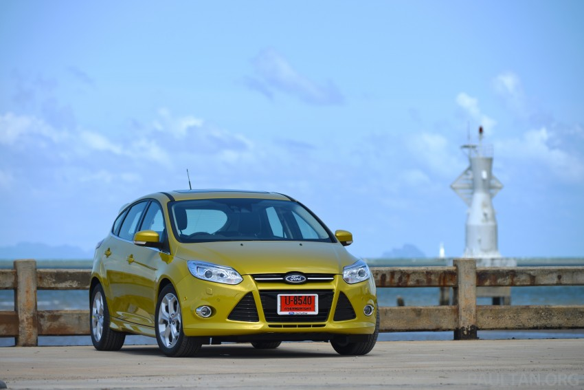 DRIVEN: New Ford Focus Hatch and Sedan in Krabi Image #118759
